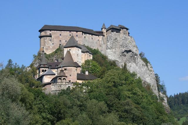 oravský zámek