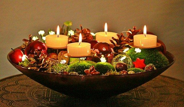 vánoční mísa