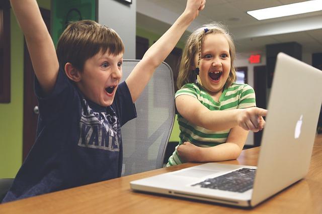 děti a online hry