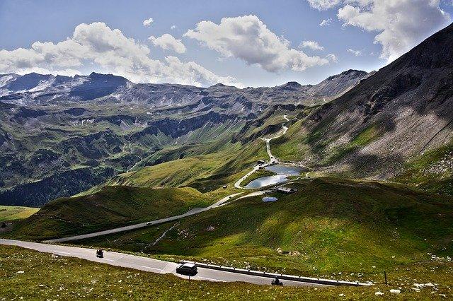 vysokohorská silnice